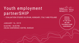 """Youth Employment PartnerSHIP"" launch event"