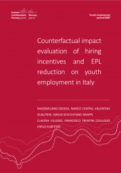 Counterfactual impact evaluation of hiring incentives and EPL reduction on youth employment in Italy